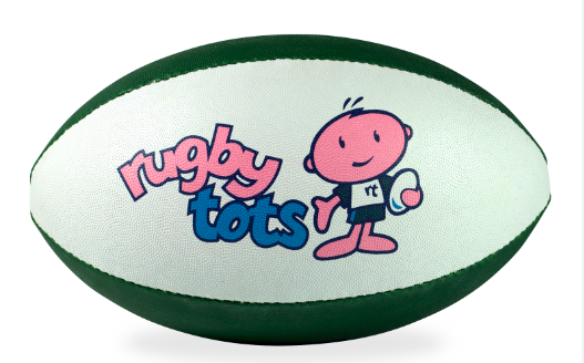 Green Rugbytots Ball